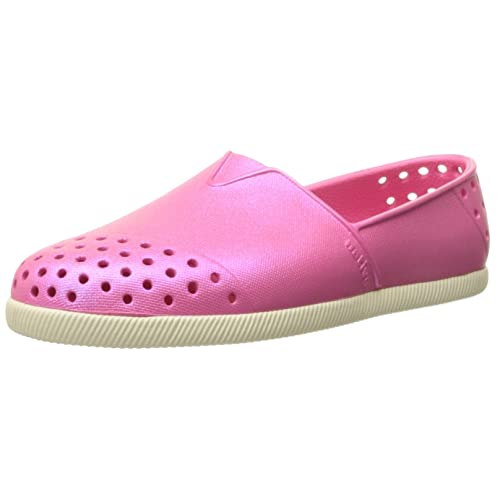 reputable site bb8fd 79653 Native Verona Iridescence Child Slip On Sneaker (Toddler Little Kid),  Hollywood Pink