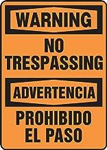 Best no trespassing spanish translation Reviews