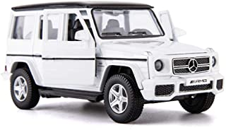 TGRCM-CZ 1:36 Scale Benz G63 Car Model for Kids,Alloy Pull Back Vehicles Toy Car for Toddlers Kids Boys Girls Gift ( White )