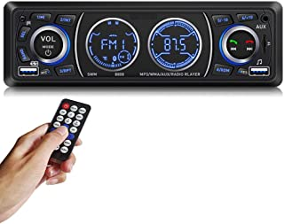 Car Stereo Car Stereo with Bluetooth Single din in Dash car Stereo car Radio car aduio stereos for car Support USB Port, S... photo
