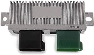Diesel Glow Plug Control Module Relay for 1999-2010 Ford Super Duty,Club Wagon,Excursion, 7.3L 6.0L 6.4L Replaces YC3Z12B533AA (Silver)