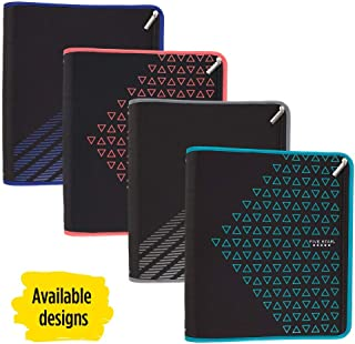Five Star Zipper Binder, 2 Inch 3 Ring Binder, Xpanz, Color Selected For You, 1 Count (29040)