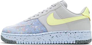 NIKE AIR FORCE 1 CRATER MEN'S SHOE Pure Platinum/Summit White/Chambray Blue/Barely Volt CZ1524-001 20Q4-70