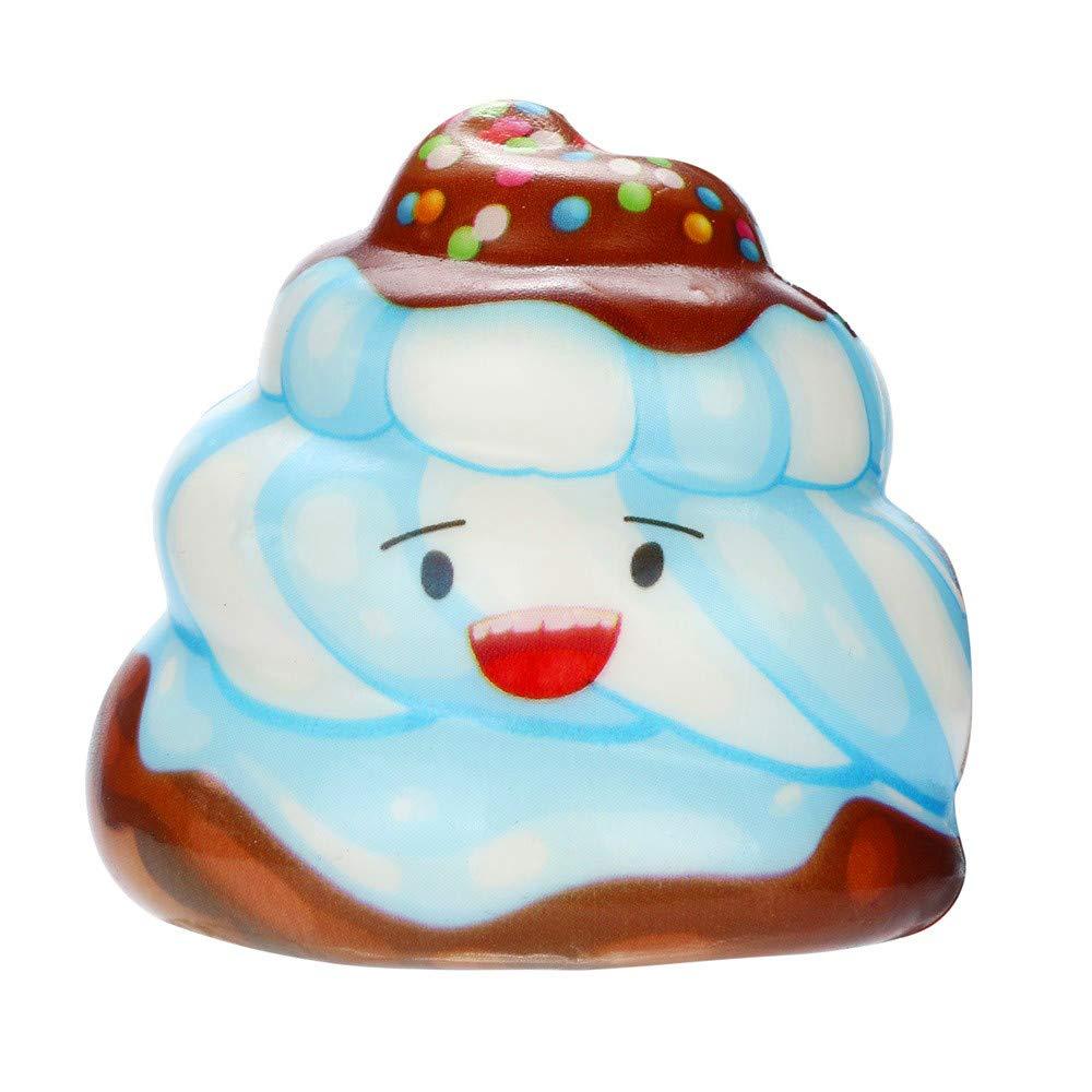 Unpara Kawaii Cake Poo - Peluche de Dibujos Animados para aliviar ...