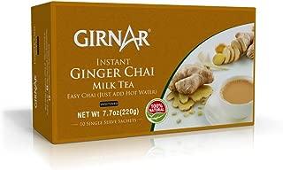 Girnar Instant Chai (Tea) Premix With Ginger 10 Sachet Pack
