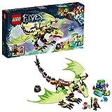 LEGO Elves - Dragón Malvado del Rey de los Duendes, Juguete de Dragón Verde de Construcción con Muñeco del Rey para Niños y Niñas de 8 a 12 Años (41183)