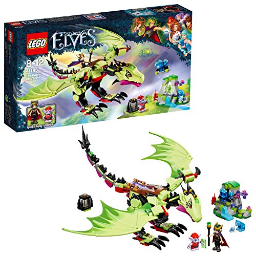 LEGO- Elves TY MLP LunaAnimale Peluches Giocattolo, Multicolore, 41183