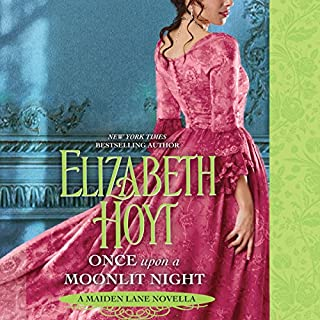 Once upon a Moonlit Night audiobook cover art