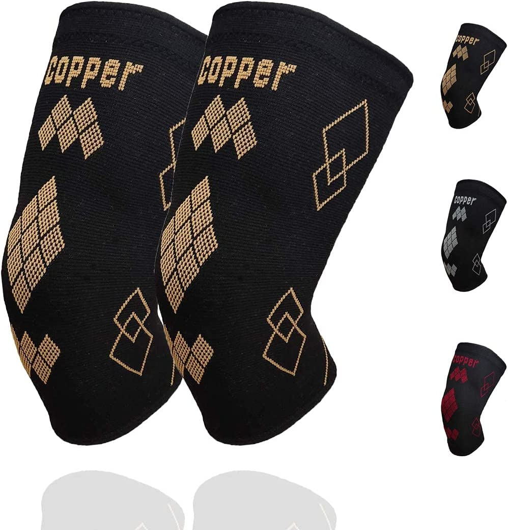 Copper Knee Brace for Arthritis - free Pain S and Max 80% OFF Support