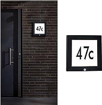 Paulmann 94254 zewnętrzny panel LED lampa zewnętrzna prostokątna wraz z 1 x 9 W antracyt aluminium 3000 K ciepła biel, 9 W