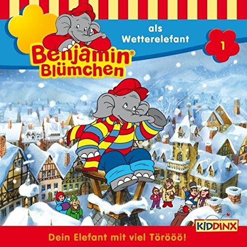 Benjamin als Wetterelefant audiobook cover art