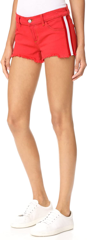 SIWY Women's Bailey L.R. Tuxedo Shorts, Royal Blood, 27