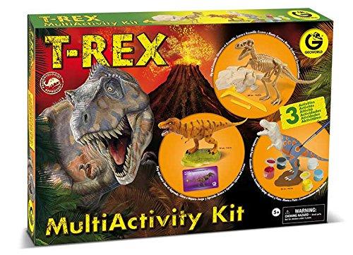Geoworld - Kit de multiactividad T-Rex (DeQUBE Trading S.L.