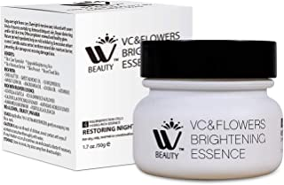 WBM 8720-4 Restoring Night Face Anti-Aging Cream Moisturizer, 1.7 oz, Regenerate Skin Cells Hydro-Rich Essence