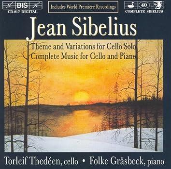 Sibelius: Complete Music for Cello and Piano