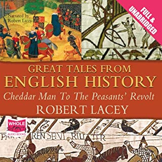 Great Tales from English History: Volume I cover art