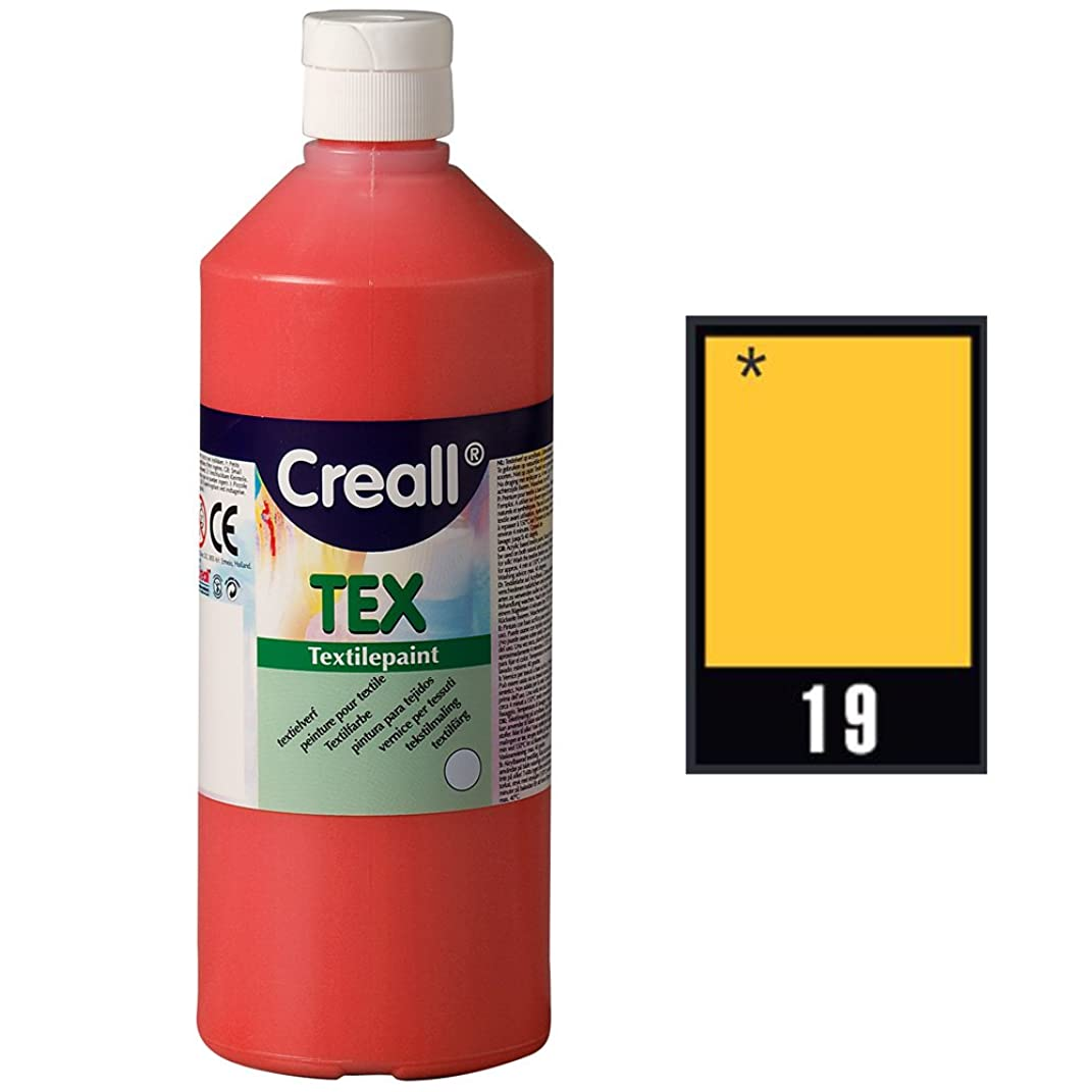 Creall Havo24039 250 ml 19 Gold Havo Textile Paint Bottle