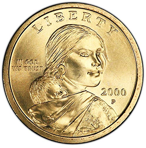 2000 P BU Sacagawea Dollar Choice Uncirculated US Mint