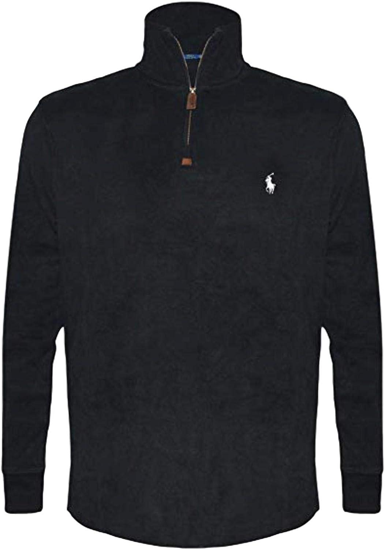 Polo Ralph Lauren Men's Big and Tall Estate Rib Half-Zip Pullover sweatshirt