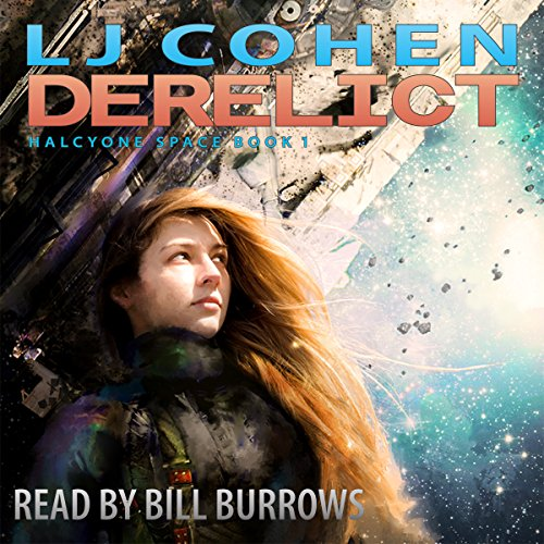 Derelict audiobook cover art