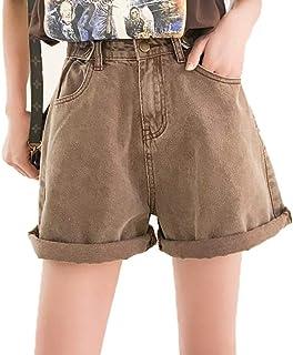 d89a635eb04b3 Amazon.fr : Short en jeans - Marron / Shorts et bermudas / Femme ...
