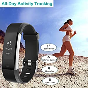 Willful Fitness Tracker with Heart Rate Monitor, Fitness Watch Activity Tracker Waterproof