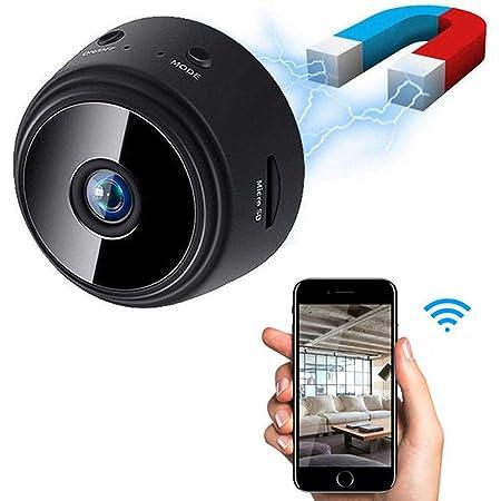 Amazon.com : Mini Cop Cam Wireless Camera, 4K WiFi Indoor Security Surveillance Camera with Night Vision Motion Activation : Camera & Photo