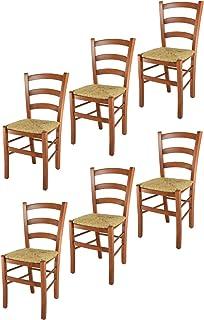 Ordinaire Tommychairs Chaise Du Design   Set De 6 Chaises Venice Pour La Cuisine Et  La Salle