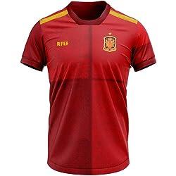 Camiseta réplica oficial de la primera equipación de la selección española en la Euro 2020