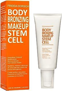 Fridda Dorsch Body Bronzing Makeup - Maquillaje Corporal, Estiliza y Unifica el Tono de Piernas y Brazos, 200 ml