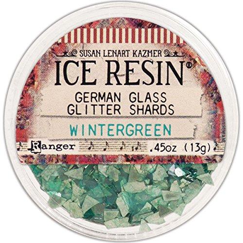 ICE Resin Wintergreen Glass Glitter Shards