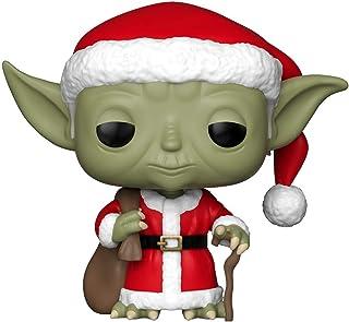 Funko Pop Star Wars: Holiday – Figura coleccionable de Santa Yoda, multicolor