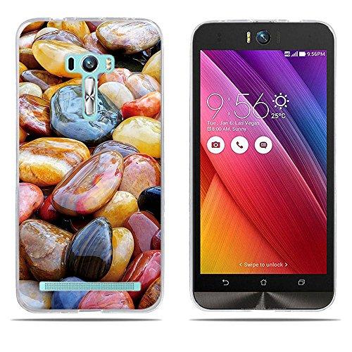 DIKAS für Asus ZenFone Selfie ZD551KL Hülle, Transparent Ultra Slim Tasche Etui Weich Flexibel Crystal Clear Premium TPU Silikon Bumper Schutzhülle für Asus ZenFone Selfie ZD551KL- Pic: 02