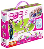 Engino Inventor Girl 10, STEM Model Construction System, Build Stem Skills, 75 Parts, Parts Separating Tool Included, ENG-IG10 Toy