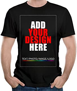 Men Custom t-Shirt Tee, Design Your Custom Shirt, Add Your Image Photo Text