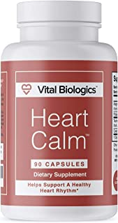 Heart Calm- Support and Maintain a Healthy Heart Rhythm- A Natural, Fast-Acting Formula with Magnesium Taurate, Glycinate,...