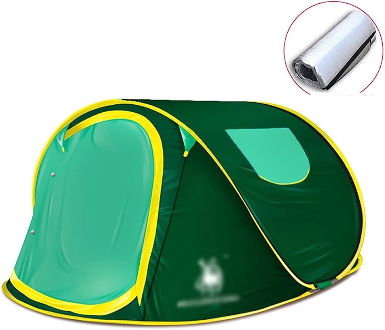 Zelt MAZHONG MAZHONG MAZHONG Outdoor 2-3 Personen Camping Handwurf Geschwindigkeit Offenes Camping Automatische Paar Freizeit Angeln (Farbe   Grün) B07CKSZFXB  Markenschmaus 8754fa