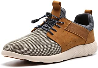 LANGBAO Men Casual Breathable Mesh Running Shoes Fashion Athletic Gym Walking Sneakers 7036-1