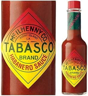 Tabasco Brand Habanero Sauce 5oz. Pack of 2