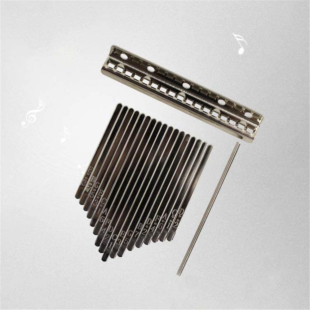Shrapnel 17 Keys Thumb Piano Kalimba Instrument Accessories Finger ...