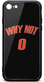 WHY NOT #0 Basketball MVP Phone Case for iPhone 6 Plus/6S Plus TPU Protective Anti-Scratch Fashionable Glossy Anti Slip Thin Shockproof Case