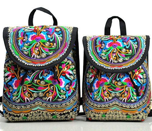 Goodhan Embroidery Backpack for Women...