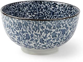 6Inch Hand Painted Vintage Blue And White Porcelain Tableware Japanese Style Ceramic Soup Noodles Bowl Fruit Salad Big Bowls New,D,6Inch