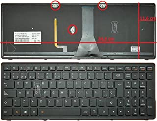 IFINGER Teclado español de portatil para Lenovo B50-80 (80EW018QGE) B50-80 (80EW018UGE) Negro SP