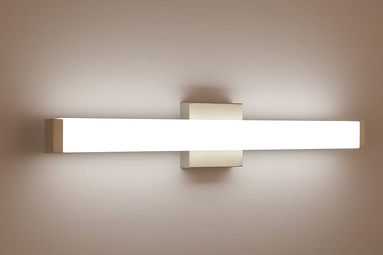 Buy Yhtlaeh Bathroom Vanity Light Brushed Nickel Square Led 24 Inch 14w 4000k Natural White Light Wall Bar Lighting Fixtures Over Mirror Online In Indonesia B07rr7cj2k