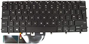 Laptop Keyboard for DELL XPS 15 9550 9560 Precision 5510 5520 0VC22N VC22N United Kingdom UK Black with Backlit New