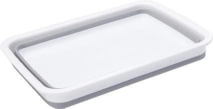 Ashley BB-CB250 Bassine repliable/de taille moyenne Gris//blanc