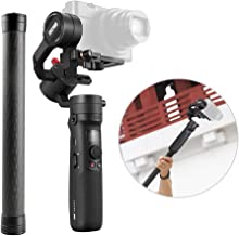 Zhiyun Crane-M2 Handheld Gimbal Stabilizer Compatible with Sony GoPro Hero 7/6/5 Compatible with iPhone Smartphone +Stabilizer Extension Pole Stick Rod Monopod