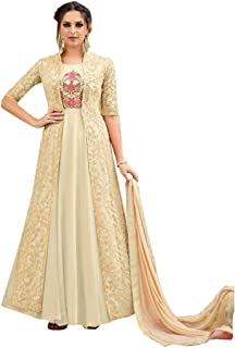 EID Bollywood Wedding Ceremony Floor Length Anarkali Suit with Pant Style Jacket Grown Custom to Measure Muslim 2759