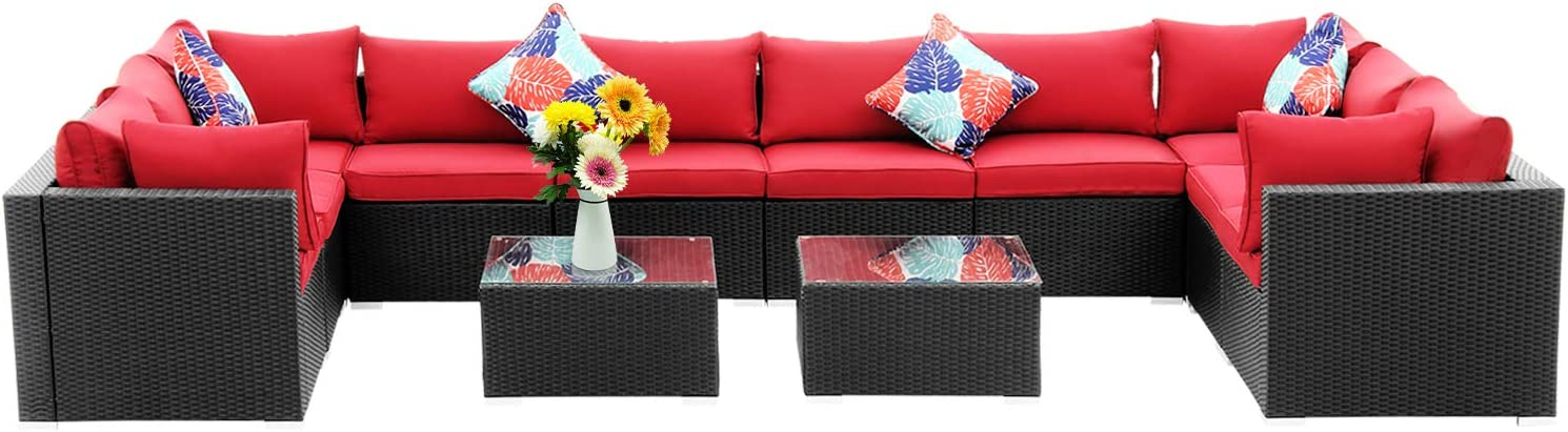 Diophros 12 New popularity Spring new work Pieces Patio Furniture All-Weather Sets Sec Outdoor